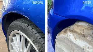 mg zr car paint deep scratch repair diy 30 youtube