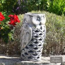 owl garden ornaments in stock now greenfingers