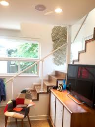diy modern stair railing for loft staircase simplified building