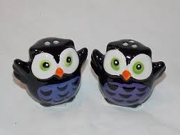 halloween salt and pepper shakers collection on ebay