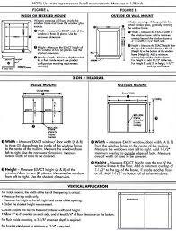 Measuring Window For Blinds Measuring Panel Tracks Blindsonline Com Inc