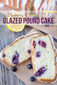 glazed blueberry lemon pound cake swanky recipes