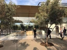 inside apple park first look at tech giant u0027s 5 billion