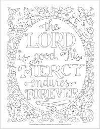 mary engelbreit coloring pages scripture sunday the lord is good