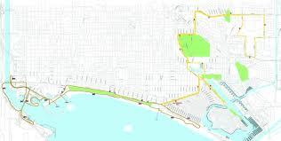 Long Beach Map Long Beach Marathon 31st Annual This Weekend