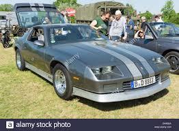 third camaro z28 a sports car chevrolet camaro z28 third generation stock photo