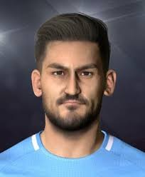 gundogan hair pes 2017 ilkay gündoğan man city face by shenawy pes patch