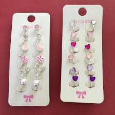 kids clip on earrings brand new lovisa kids clip on earrings babies kids on carousell