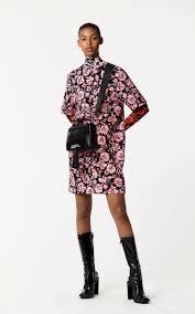 floral leaf u0027 dress for women kenzo kenzo com