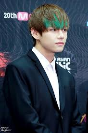 7 of bts v u0027s most outrageous hair colors u2014 koreaboo
