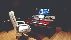 How To Build A Recording Studio Desk by 6 Ways To Make Your Studio Look Cool Musictech Net