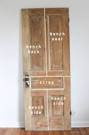 Antique Wood Benches Sale by Old Door New Bench Rustic Bench Wood Doors And Doors