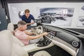 the new e class with next level interior design mercedes benz