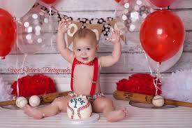 baby cake smash photo ideas popsugar moms