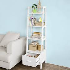 Leaning Ladder Bookcases by White Ladder Bookcases U2013 Choozone