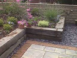 Railway Sleepers Garden Ideas Russian Bulkhead Railway Sleepers Patio Pinterest Railway