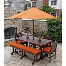 Patio Dining Set With Umbrella Pallet Patio Furniture As Patio Cushions And Unique Patio Dining