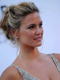 casual updo hairstyles front n back 40 quick and easy updos for medium hair bangs medium hair and prom