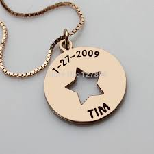 Children S Name Necklace Necklace Bag Picture More Detailed Picture About Personalized