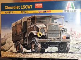 land rover italeri chevrolet 15cwt truck leicester modellers