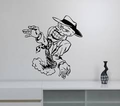 the mask movie wall decal removable vinyl sticker comics hero