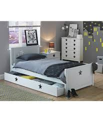 buy stars white single bed with drawer at argos co uk your