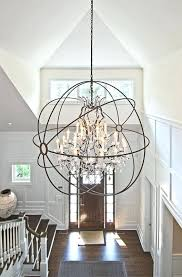 Foyer Chandelier Height Chandelier Height Foyer Chandelier For Two Story Foyer And How To