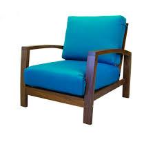 Parker Armchair New Hemisphere Ipe Wood Outdoor Furniture
