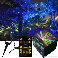 Firefly Laser Outdoor Lights by Twinkling Star Pattern Garden Laser Light For Trees Outdoor Laser