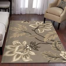 Modern Floral Area Rugs Orian Rugs Trendy Floral Sabrina Area Rug Walmart