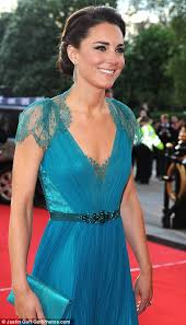 modern country style kate middleton in turquoise dress