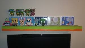 Nickelodeon Furniture Just Finished Painting My Nickelodeon Shelf Looking Forward To