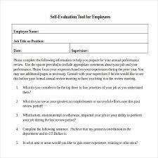 sample employee evaluation form lukex co