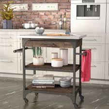 stainless steel kitchen islands u0026 carts you u0027ll love wayfair