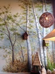 100 deer wall mural hallway wall mural happily ever after deer wall mural birch tree wall murals home interior