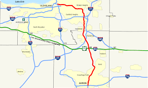 Brunswick Ohio Map by Ohio State Route 8 Wikipedia