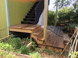 Cantilevered Deck by Decks And Stairs East Austin Carpenters