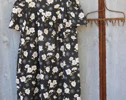 daisy print dress etsy