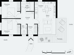 plan de maison 6 chambres plan maison plain pied 3 chambres 110m2 nouveau plan maison 6