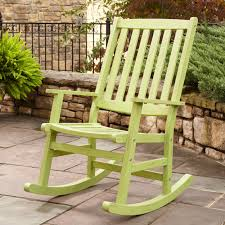 Patio Rocking Chairs Wood Decorating Patio Rocking Chair Luxurious Furniture Ideas