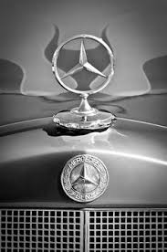 mercedes 190sl grille emblem mercedes photographs by