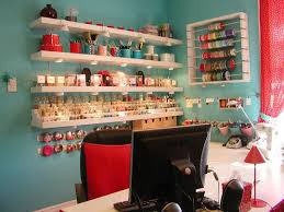 Craft Sewing Room - craft sewing knitting room storage ideas