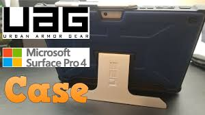 Microsoft Surface Rugged Case Uag Case For Microsoft Surface Pro 4 Unboxing Demo Review