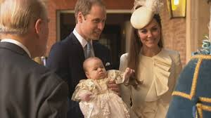 prince george christening duke and duchess of cambridge arrive
