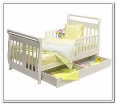 Toddler Bed White White Toddler Bed With Storage Interdesign Organizer