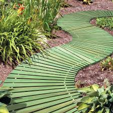 roll out flower garden portable roll out wooden walkways the green