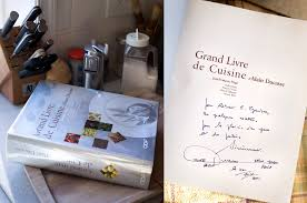 livre cuisine ducasse kitchen arts letters the rewards of persistence and grand livre