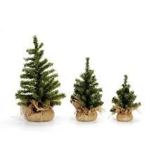 darice artificial tabletop canadian pine tree with burlap base