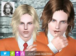 sims 3 men custom content my sims 3 blog newsea chain reaction hair for males females