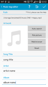 mp3 album editor apk tag editor apk thing android apps free